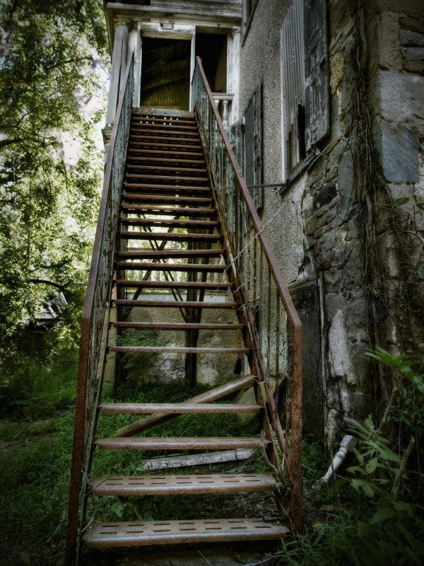 Rusted Stairs