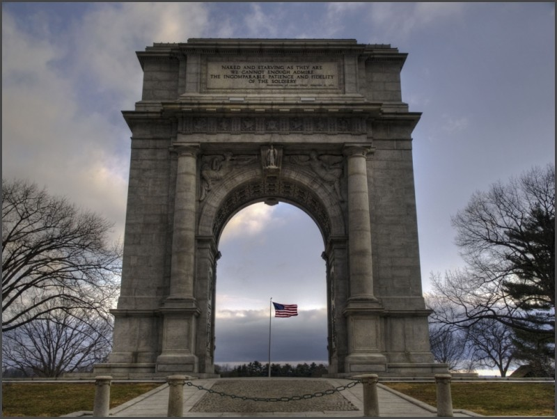 Valley Forge National Memorial Arch
