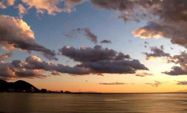 Sunset in Zushi