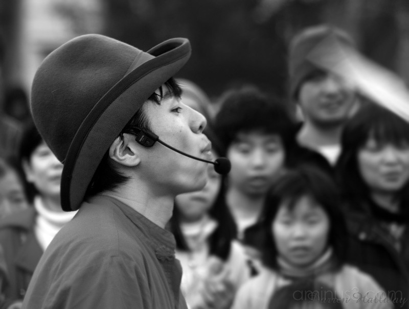 Street Performer Ueno