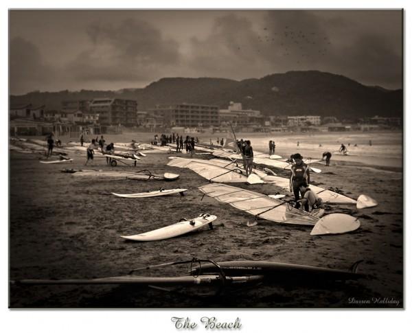 The Beach Zushi Japan Darren Halliday