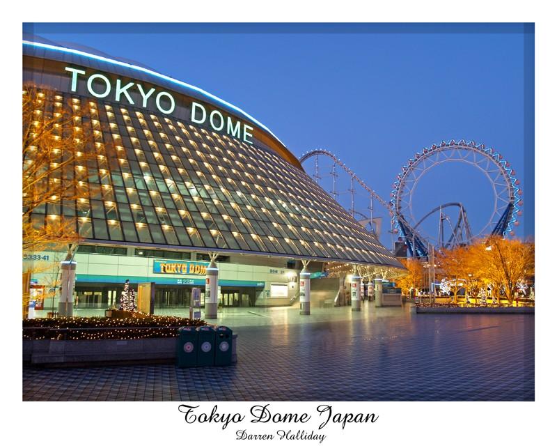Tokyo Dome Japan Darren Halliday