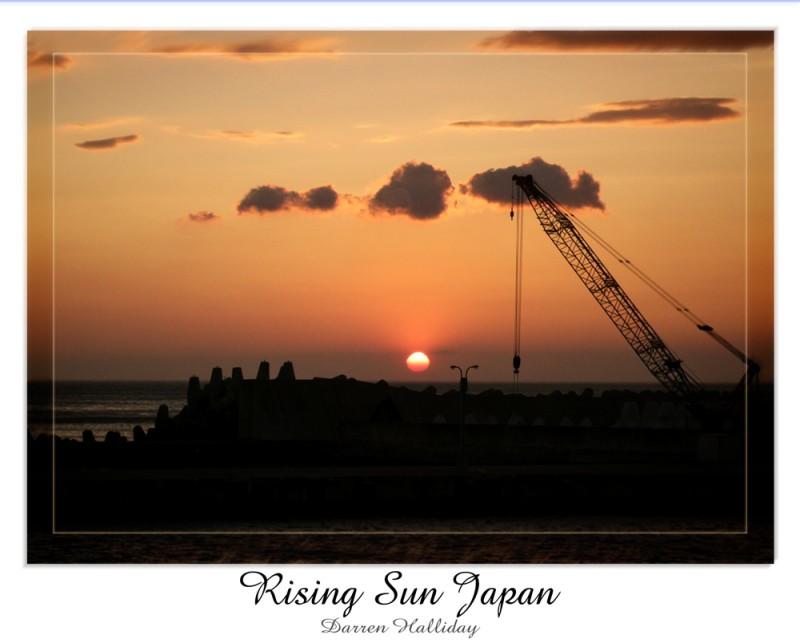 Rising Sun Japan