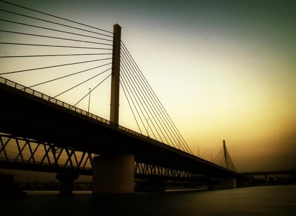 Bridge Tokyo Japan Darren Halliday