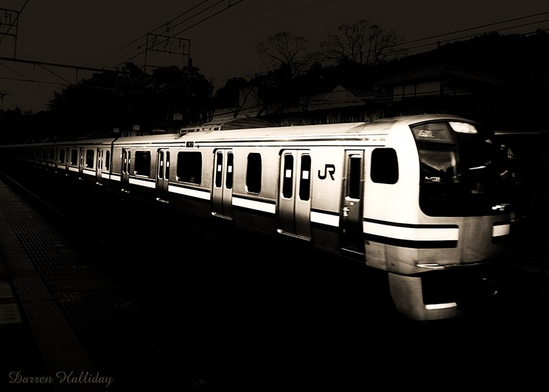 JR Japan Rail Darren Halliday Photography