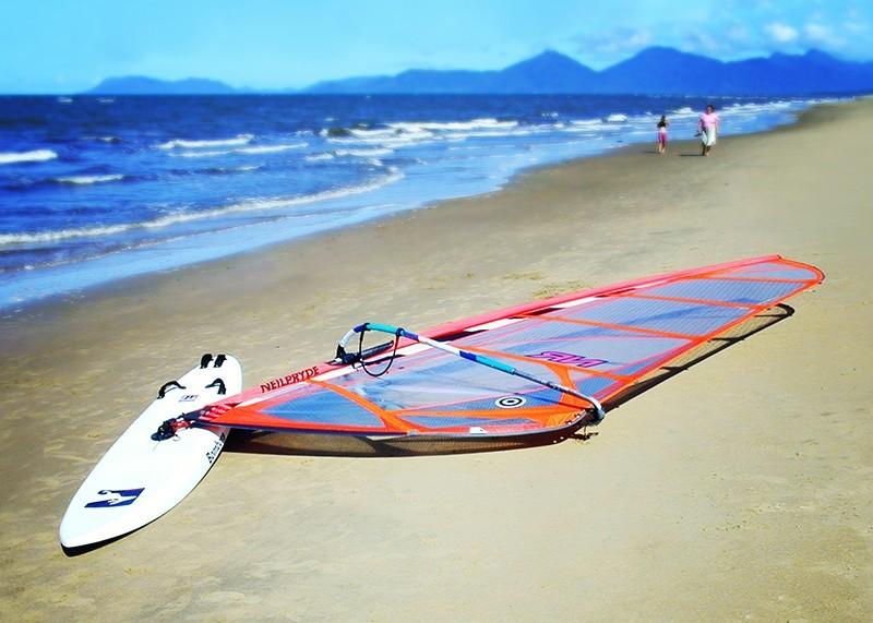 Windsurfer Yorkeys Knob Cairns Darren Halliday