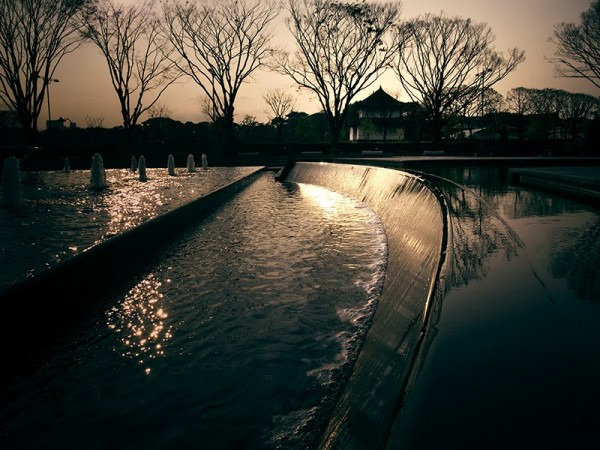 Fountain Park Tokyo Japan Darren Halliday Photogra