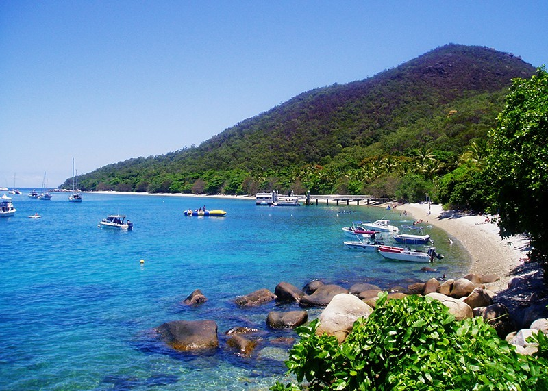Fitzroy Island Cairns Australia Darren Halliday Ph