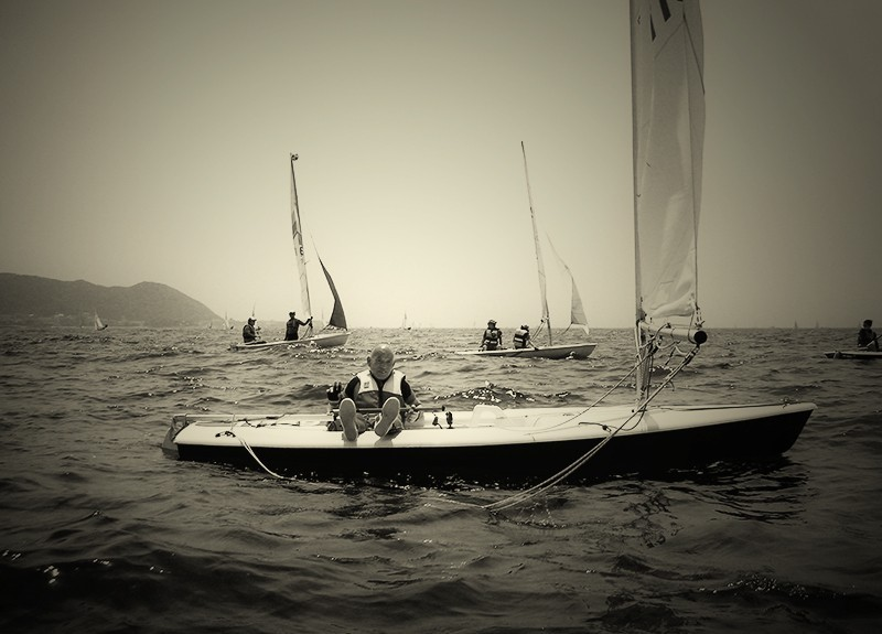 Sailing Zushi Japan Darren Halliday Photography