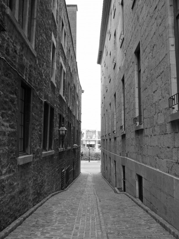 Alleyway in Old Montreal