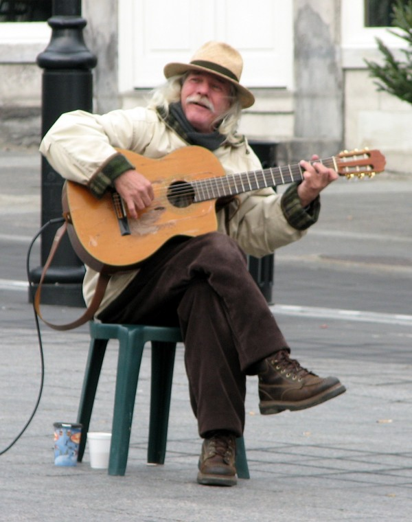 Old Man, Old Guitar, Old Montreal