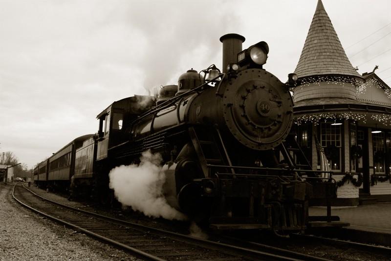 New Hope Ivy Land Steam Train