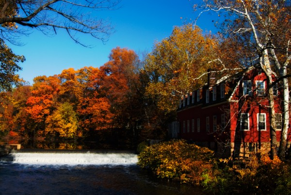 Droescher's mill in fall color