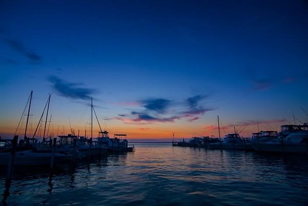 Blue Bay in Long Beach Island