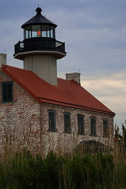 Secluded East Point Lighthouse