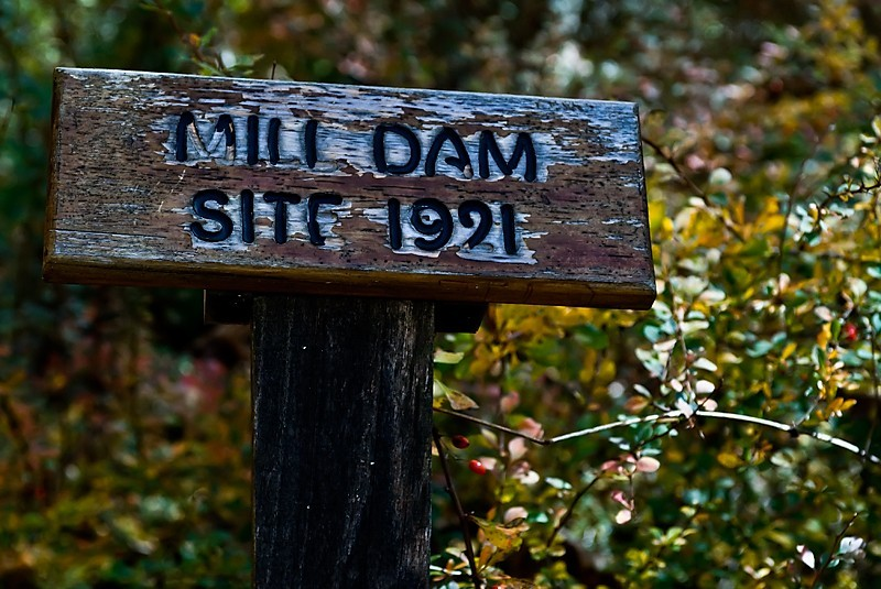 Mill Dam Site 1921