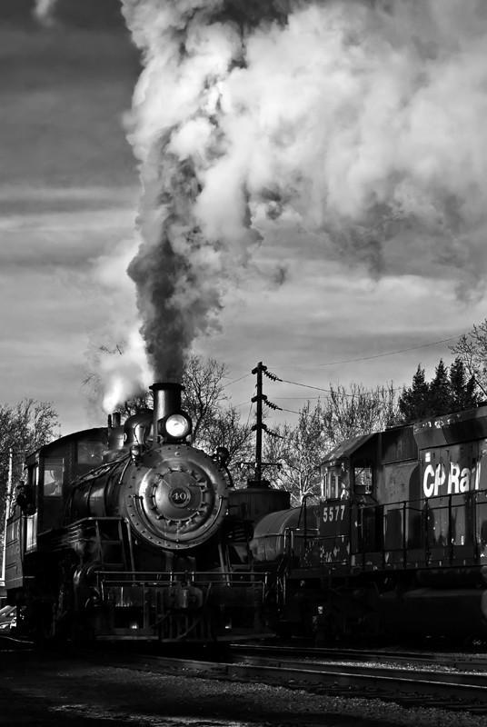 New Hope IvyLand Steam train.