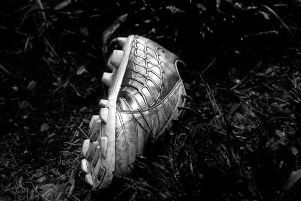 lost soccer shoe