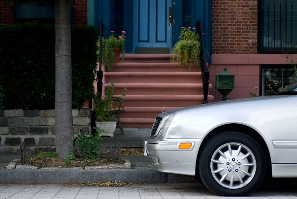 parking cars in Jersey City