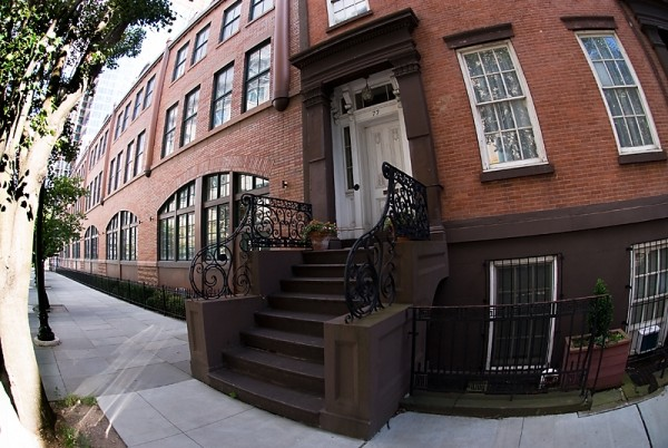 Jersey City Brownstone Architecture