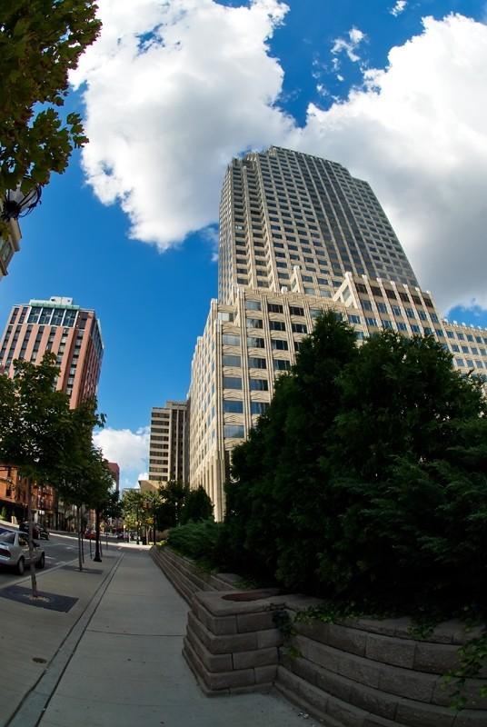 skyscraper in Jersey City Urban Cityscape