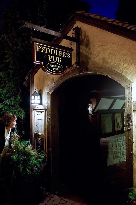 Peddlers Pub Menu