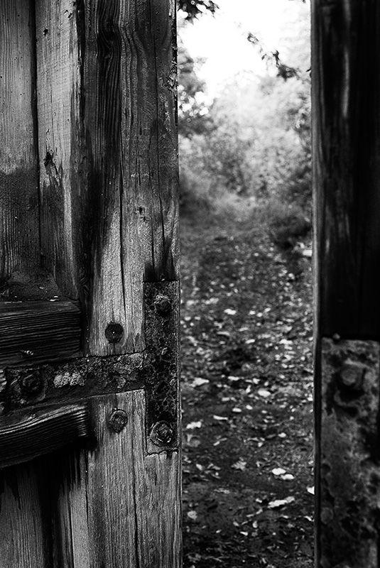 Delaware Canal lock door