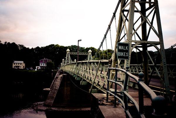 Riegelsville Roebling Bridge