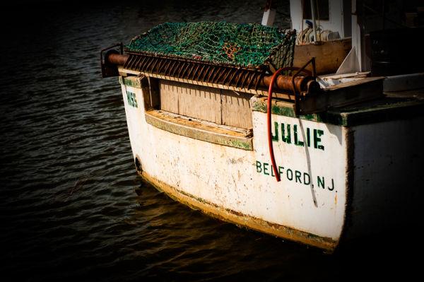 Clam boat Miss Julie in Belford NJ