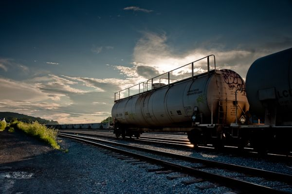 Co2 tanker car near Bethlehem Steel