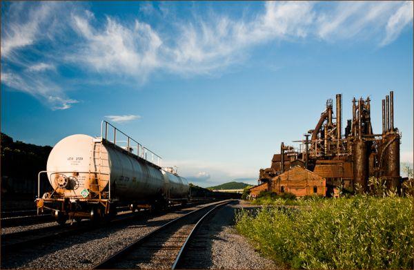 Abandoned Bethlehem Steel