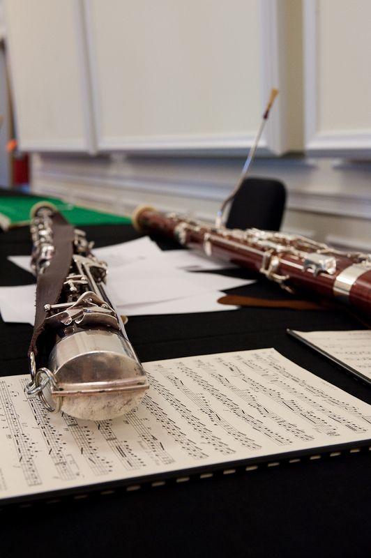 Bassoons & music at Rutgers-Mason Gross