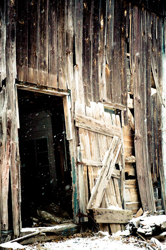 Worn out barn