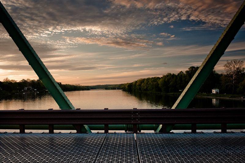 view from new hope bridge