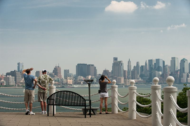 nyc view from stevens hoboken