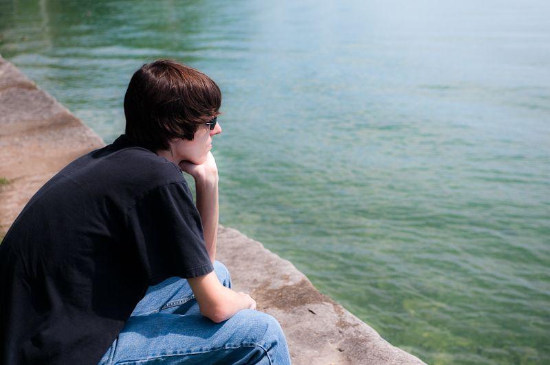 Jon at Skaneatelas Lake