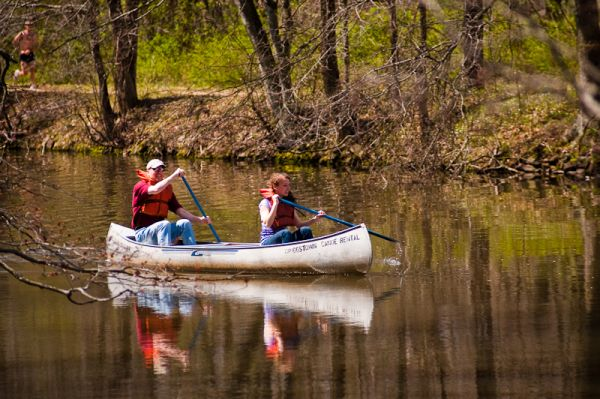 Canoeing in Princeton
