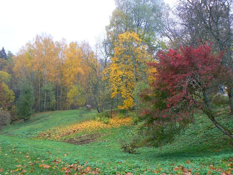 sigulda riga latvia autumn