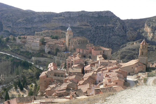 albarracin spain village