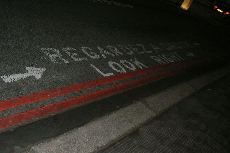 london street cross