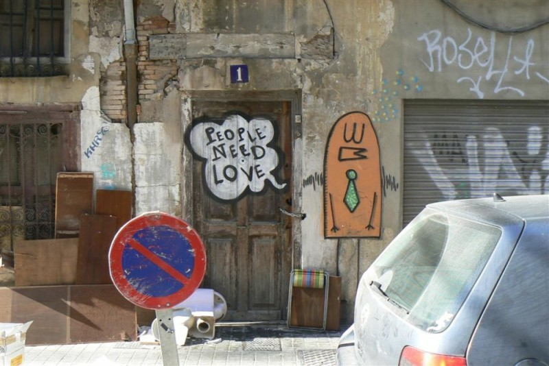 carmen valencia spain graffiti