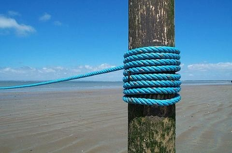 tethered...