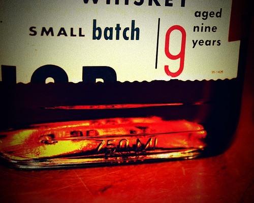 ...small batch...