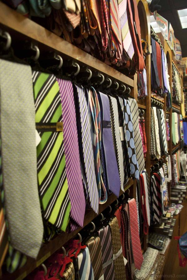 Tie shop at Penn Station