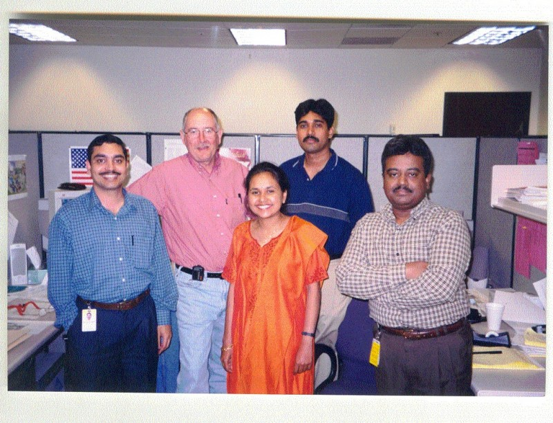 With Clients at Phoenix - During Apr 02