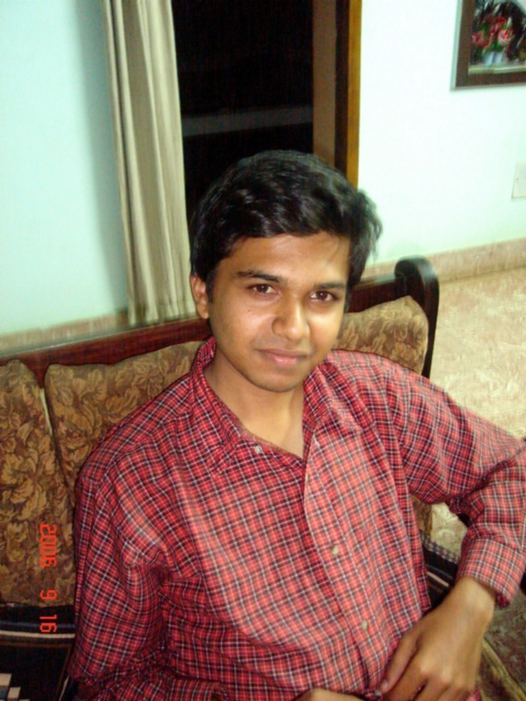 Prashanth - My younger brother