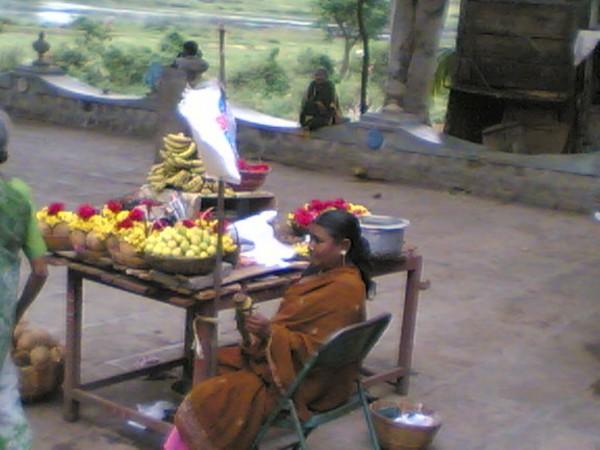 A Flower Vendor