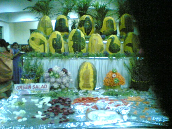 Decorated Vegetables