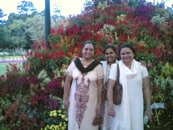 Vani Usha and Me at Lalbagh
