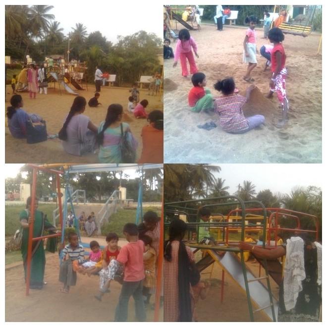 Back to playground